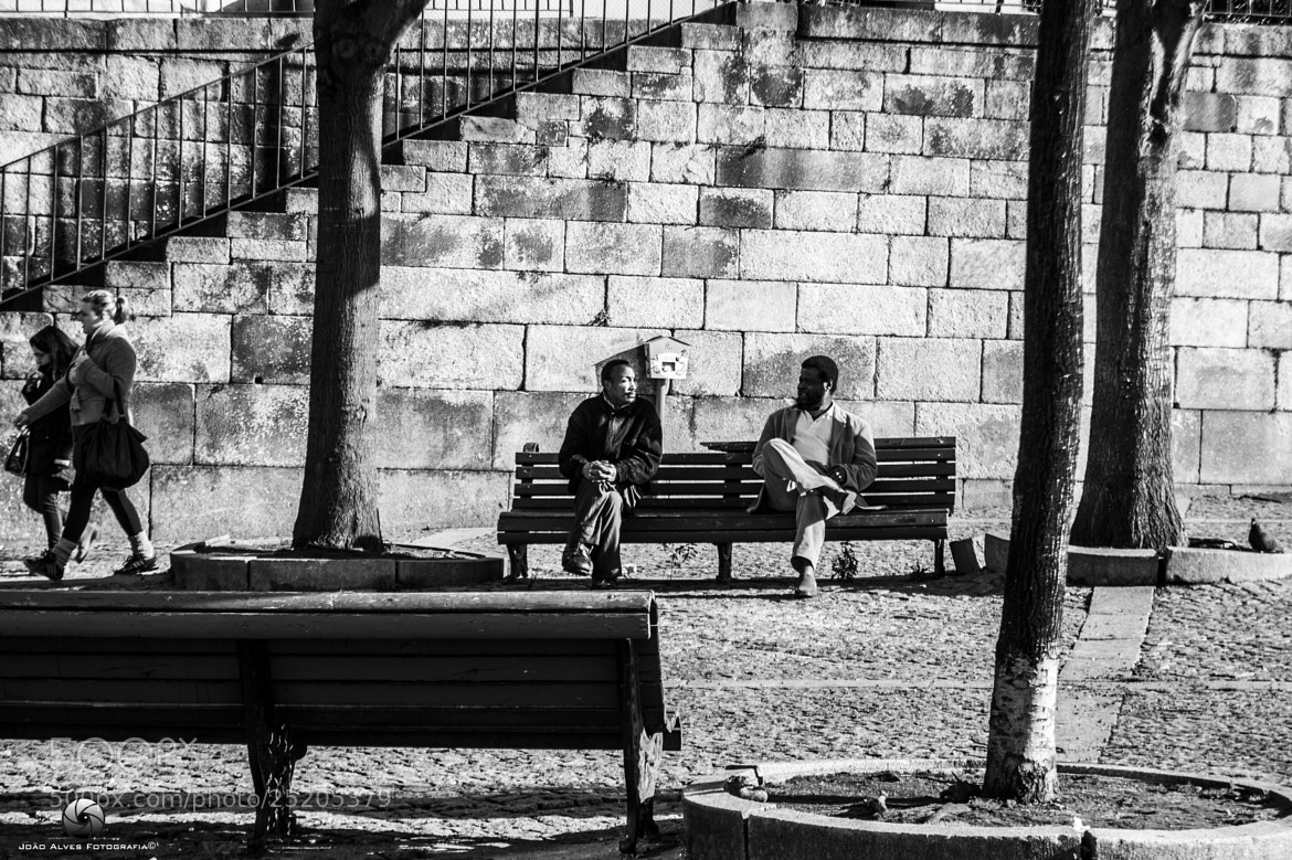 Photograph Talking with a friend by Joao Alves on 500px