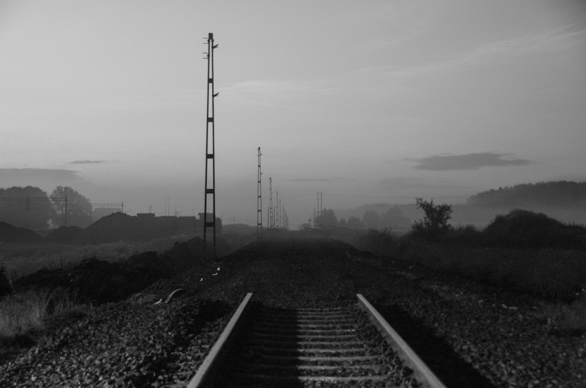 Photograph End of the line by Gunnar Sommerfeldt on 500px