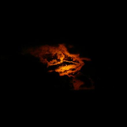Solar eclipse, Pentax K110D, smc PENTAX-DA 18-55mm F3.5-5.6 AL