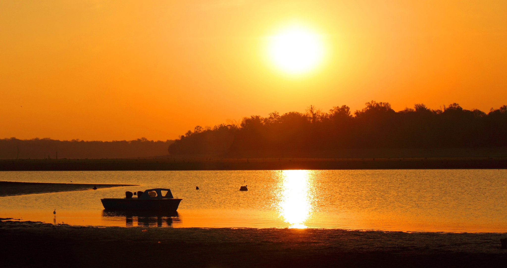 Photograph Golden Sunset @ Kabini River by udhay krishnamurthy on 500px