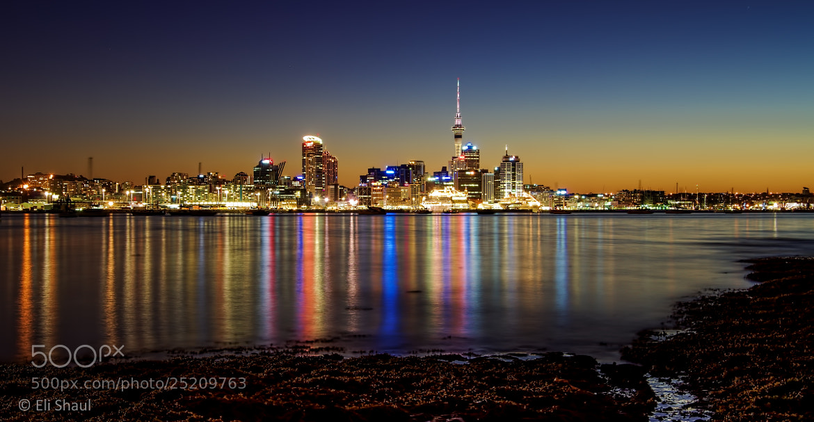 Photograph Auckland City reflections by Eli Shaul on 500px
