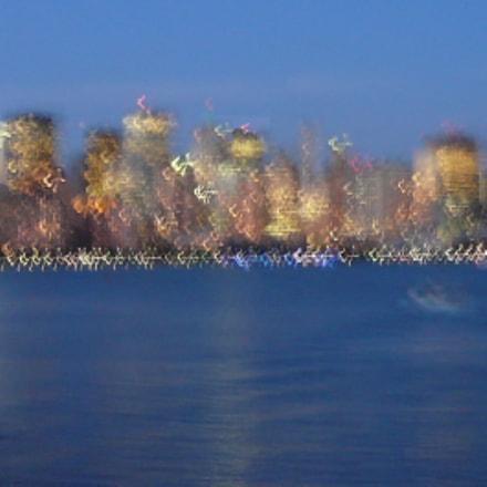 Lower Manhattan in Blur, Panasonic DMC-FX07