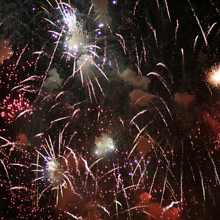 Fireworks 6, Canon EOS 400D DIGITAL, Canon EF 85mm f/1.8 USM