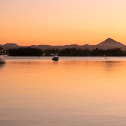 Golden Sunset Noosa Sound, Panasonic DMC-FX2
