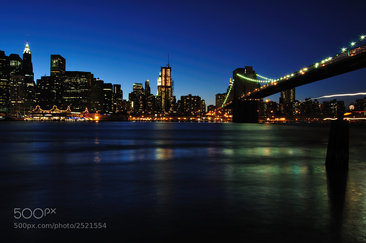 Photograph New York - Brooklyn Bridge by Haroldo Braune on 500px