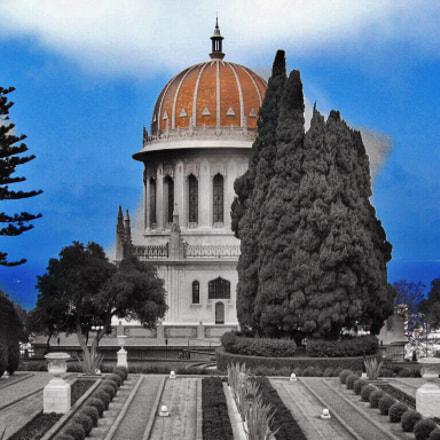 Baha'i Haifa garden, Canon POWERSHOT S45