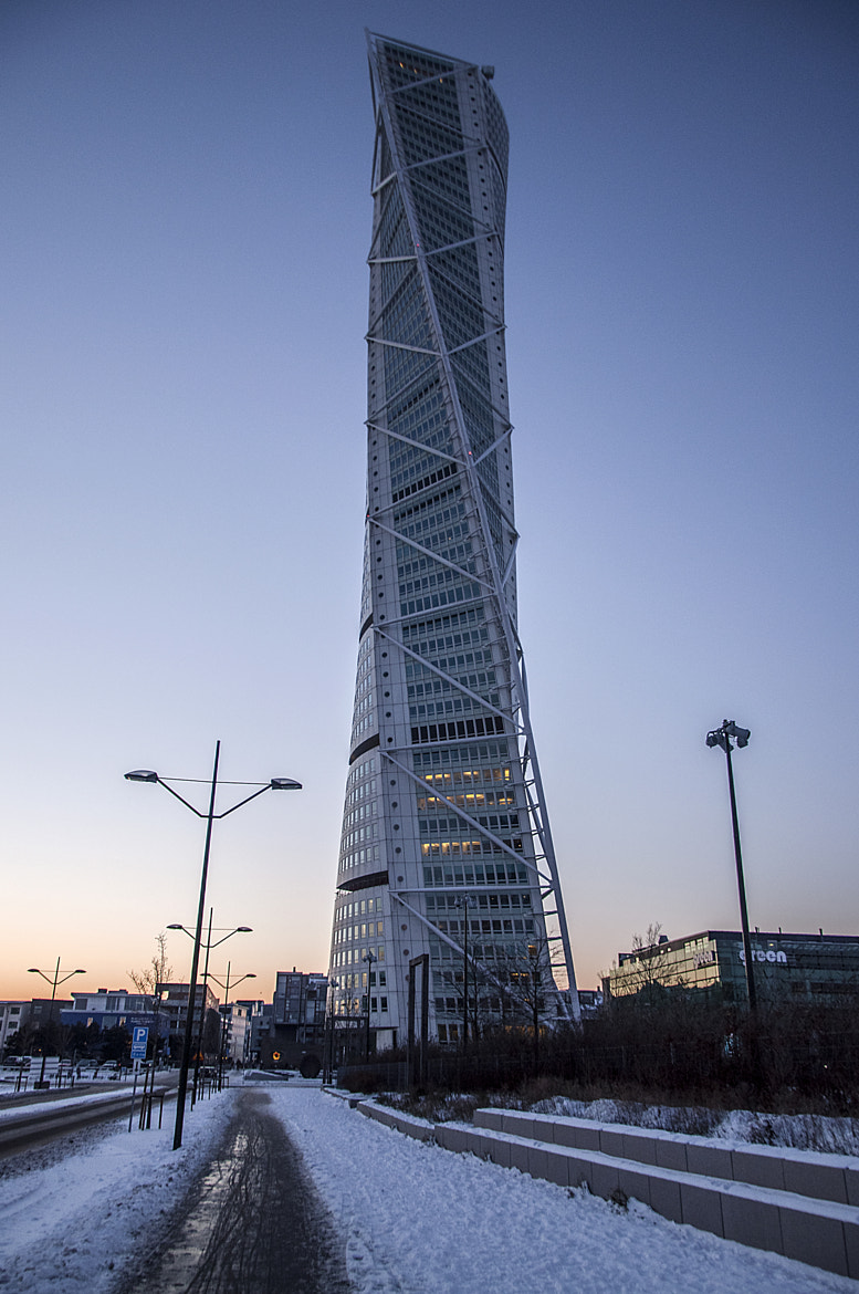Photograph Turning Torso at Sunset by Andrew Dunn on 500px