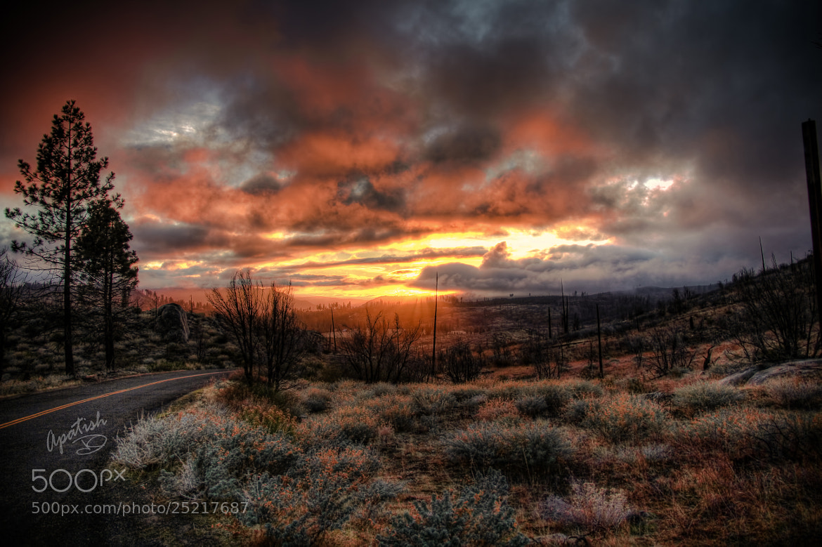 Photograph HDR sunset by Ariel Patish on 500px