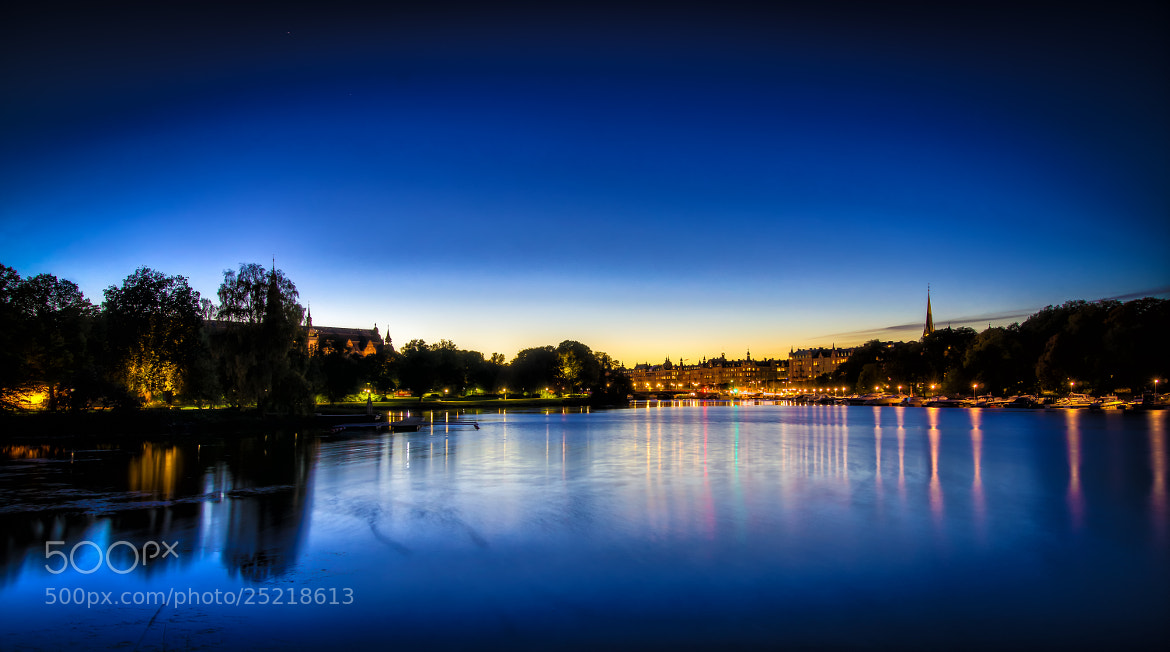 Photograph Blue hour by Örjan Gustavsson on 500px
