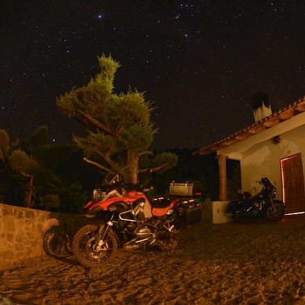 Estrellas, Nikon D5200, AF DX Fisheye-Nikkor 10.5mm f/2.8G ED