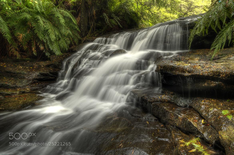 Photograph Leura Cascades by Jason  Crowell Photographics on 500px