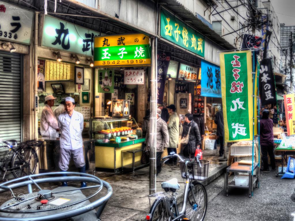 Photograph Tsukiji Market by Hiro Nakajima on 500px