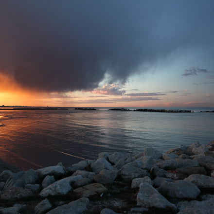 Sunset in Adriatic Sea, Canon EOS 5D MARK II, Sigma 24mm f/1.4 DG HSM | A