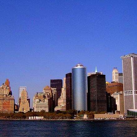 NY financial district, Sony DSC-P72