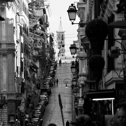 From Piazza Spagna, Nikon D3100, Sigma 18-200mm F3.5-6.3 II DC OS HSM