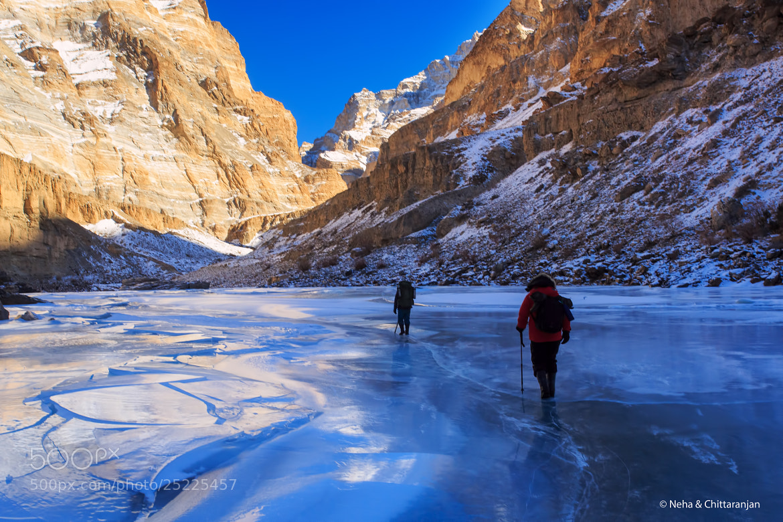Photograph Walk on Water - The Chadar Trek by Neha & Chittaranjan Desai on 500px