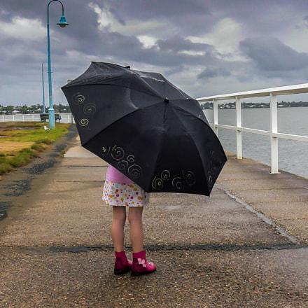 Damp Day Pink Boots, Panasonic DMC-FX2