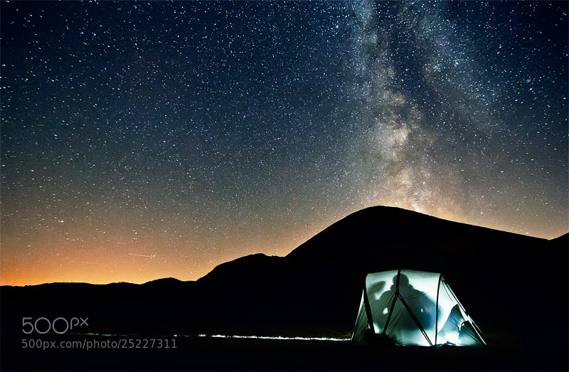 Camping under the Stars by Stefano  Vita (StefanoVita)) on 500px.com