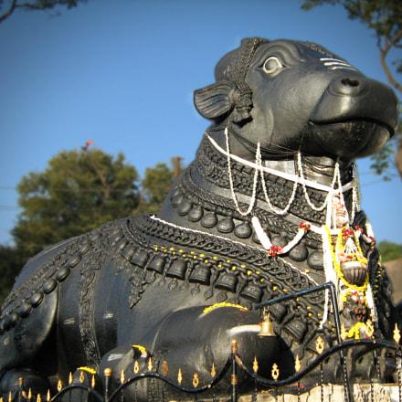 Nandi temple, Canon POWERSHOT A450