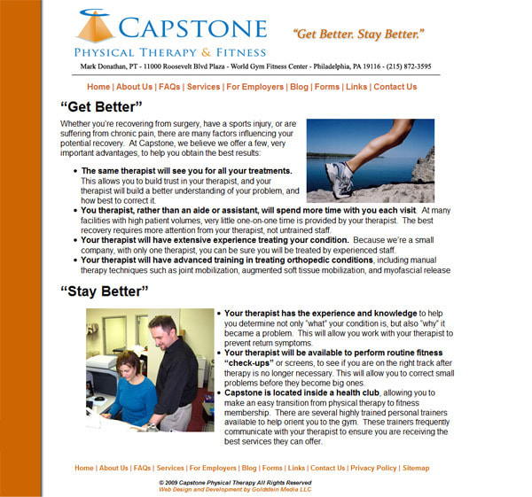 Photograph Capstone Physical Therapy by Seth Goldstein on 500px