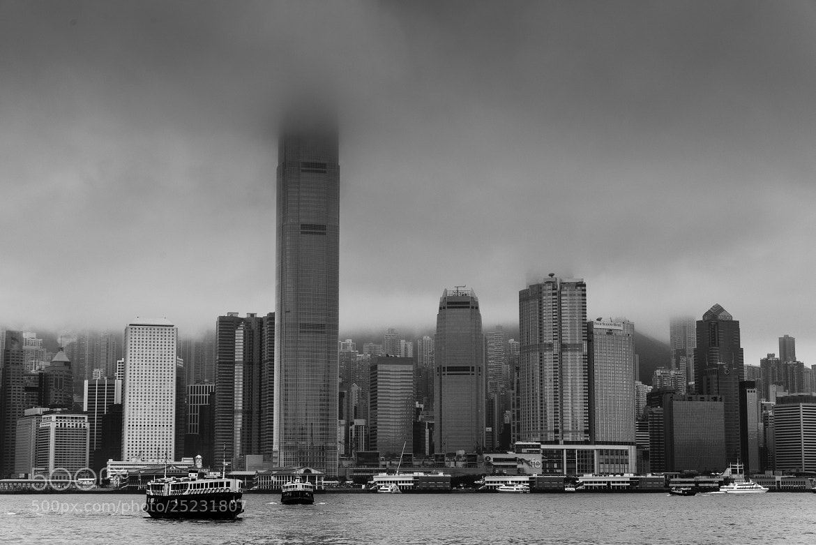 Photograph Foggy Harbour by Hei Yu on 500px