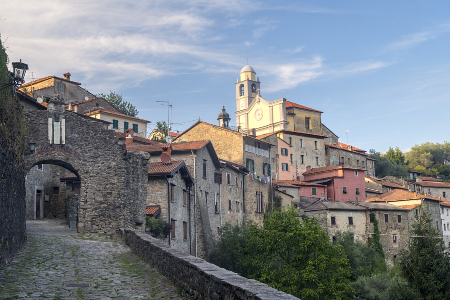 Mulazzo, old village in Lunigiana by Claudio G. Colombo on 500px.com