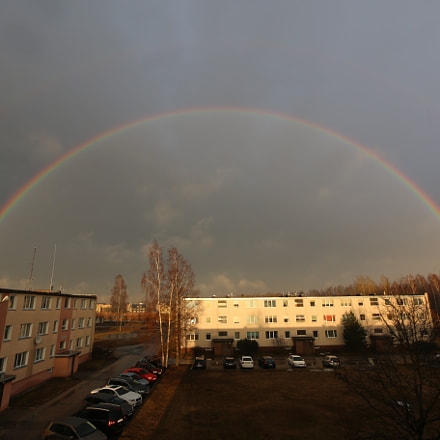 Rainbow, Canon EOS 70D, Canon EF-S 10-22mm f/3.5-4.5 USM