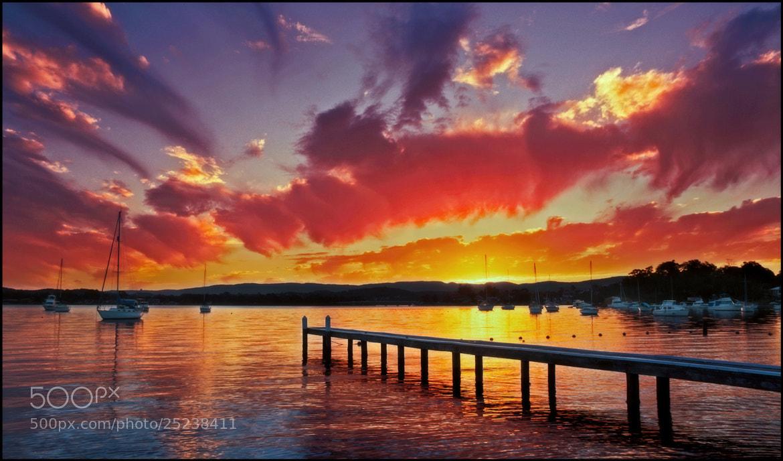 Photograph Sundown by Steve Passlow on 500px
