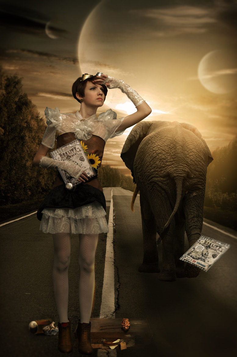 Photograph The Day Circus Left Town by Phatpuppy Art on 500px
