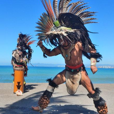 Aztec Dancer, Nikon COOLPIX AW120