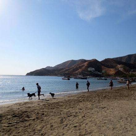 la playa, Canon IXUS 125 HS