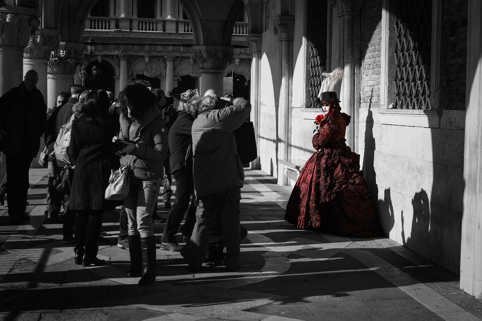 Photograph Red Mask by Claudio Bozzini on 500px