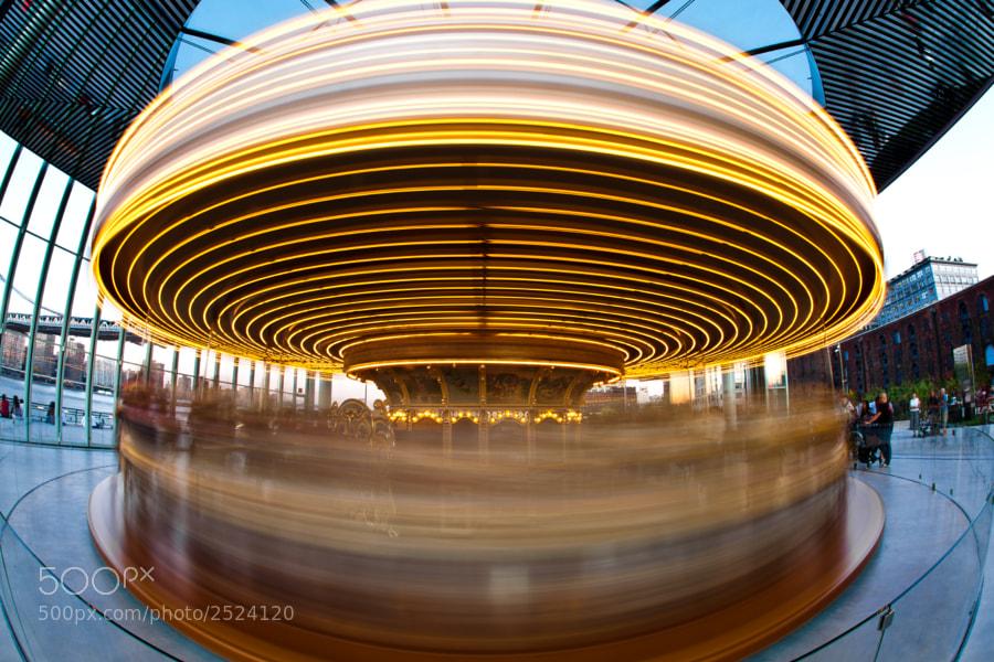 Carousel at NYC's Brooklyn Bridge Park