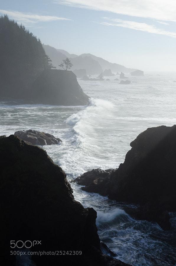 Wider contrast range, Gold Beach, Oregon coastline, 2013
