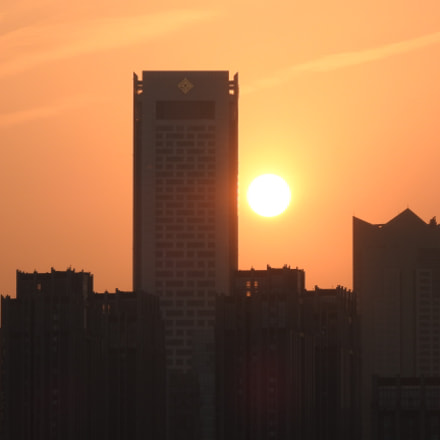 A chinese skyline, Nikon COOLPIX P900s