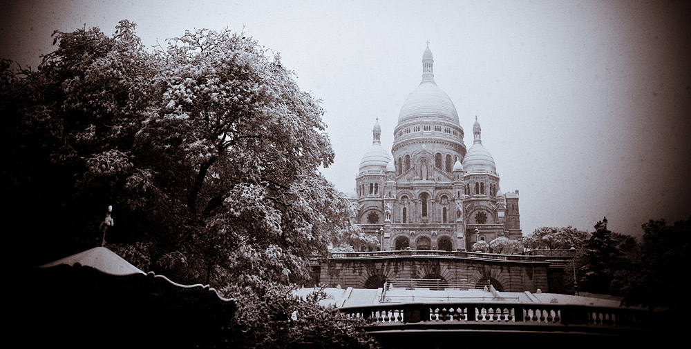 Photograph Winter time in Sacre Coeur by Kirill Umrikhin on 500px