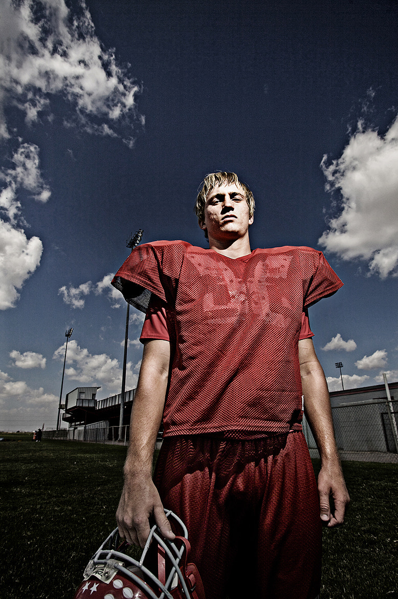 Photograph West Texas Football Player by Gary Rhodes on 500px
