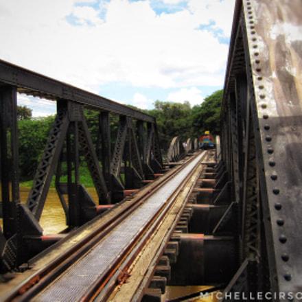 River Kwai Railway Track, Canon DIGITAL IXUS 110 IS