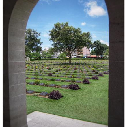 World War II Cemetery, Nikon COOLPIX S600