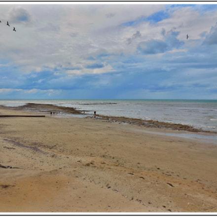 La plage de Villerville, Nikon COOLPIX S6500