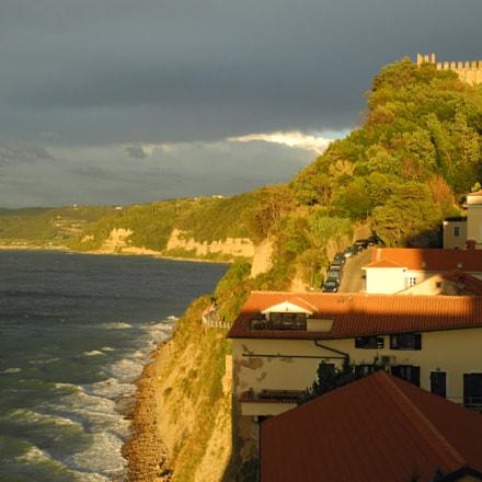 Sunny day in Piran, Nikon COOLPIX P7000