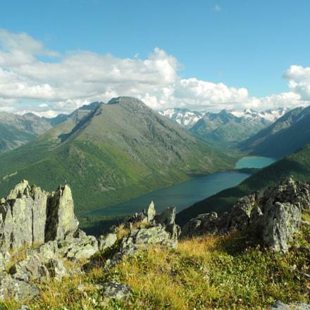 Altai mountains. Russia, Nikon COOLPIX P7000