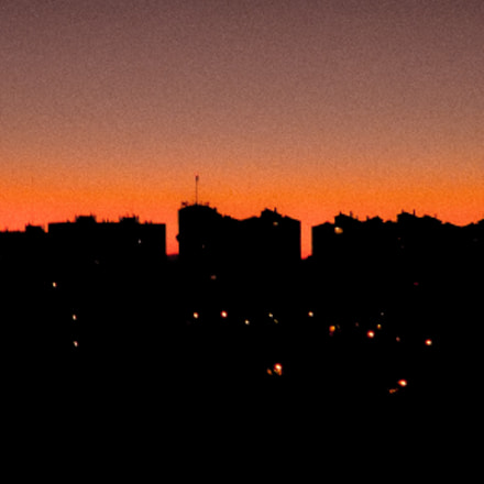 Madrid Sunset, Fujifilm FinePix S3280