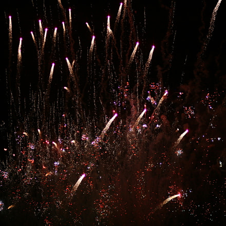 Fireworks 8, Canon EOS 400D DIGITAL, Canon EF 85mm f/1.8 USM