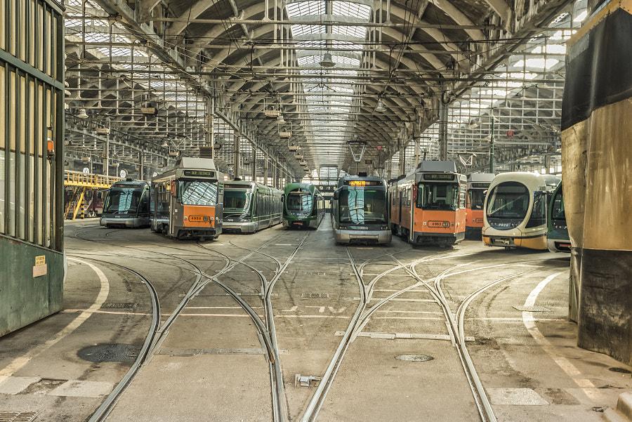 Tram deport, автор — Maurizio Consentino на 500px.com