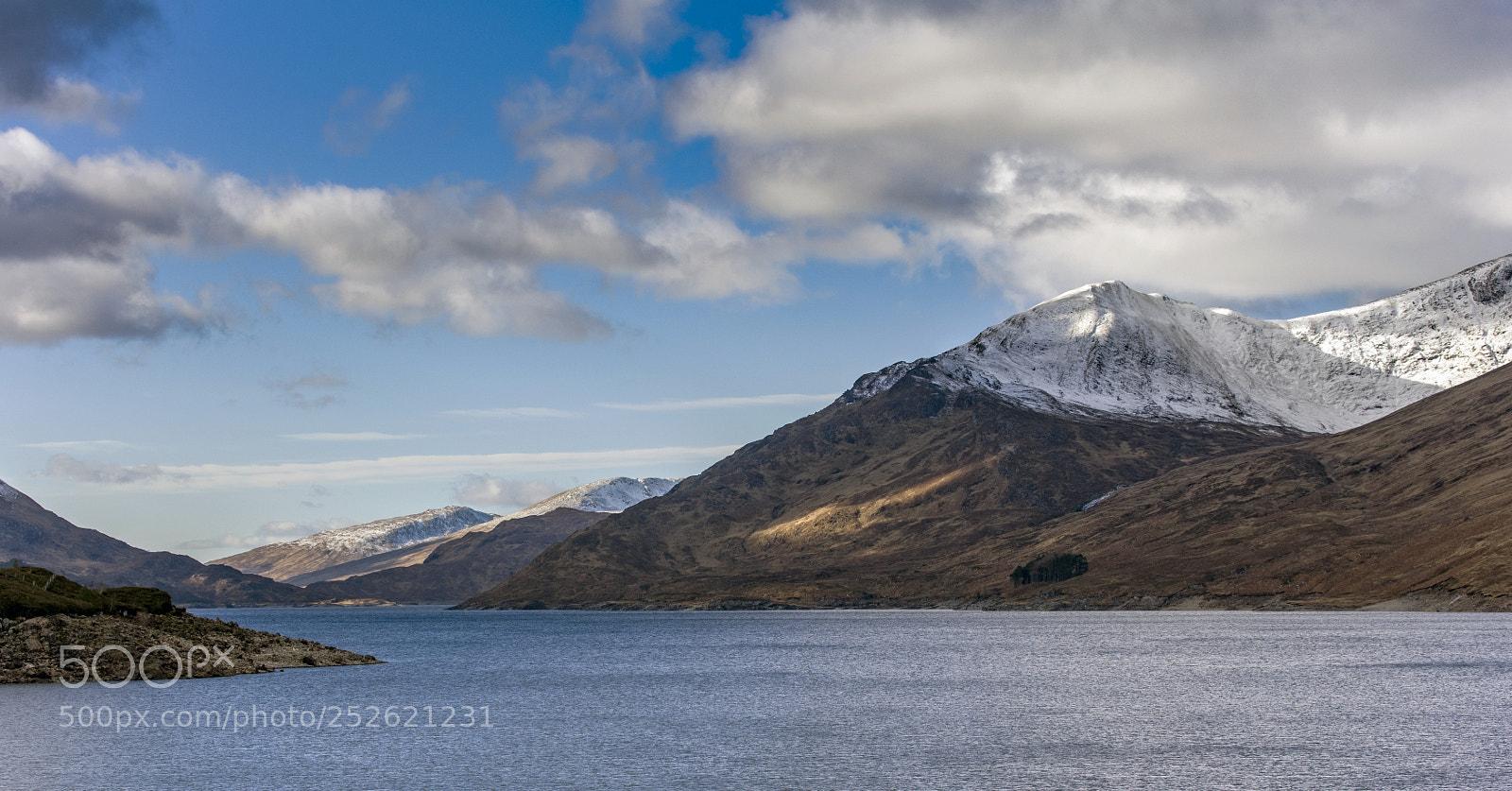 Loch Mullardoch, Canon EOS 5DS, Canon EF 70-300mm f/4-5.6L IS USM
