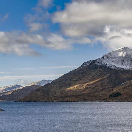 Loch Mullardoch, Canon EOS 5DS, Canon EF 70-300mm f/4-5.6L IS USM