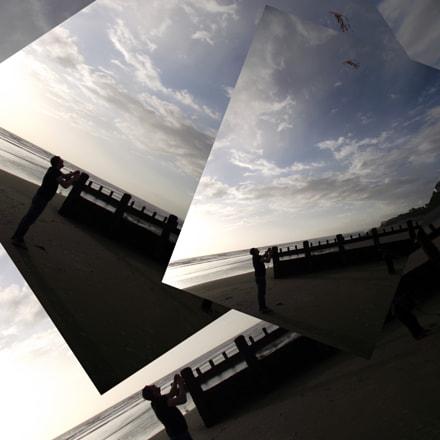 Chris and Kite, Fujifilm FinePix S1800