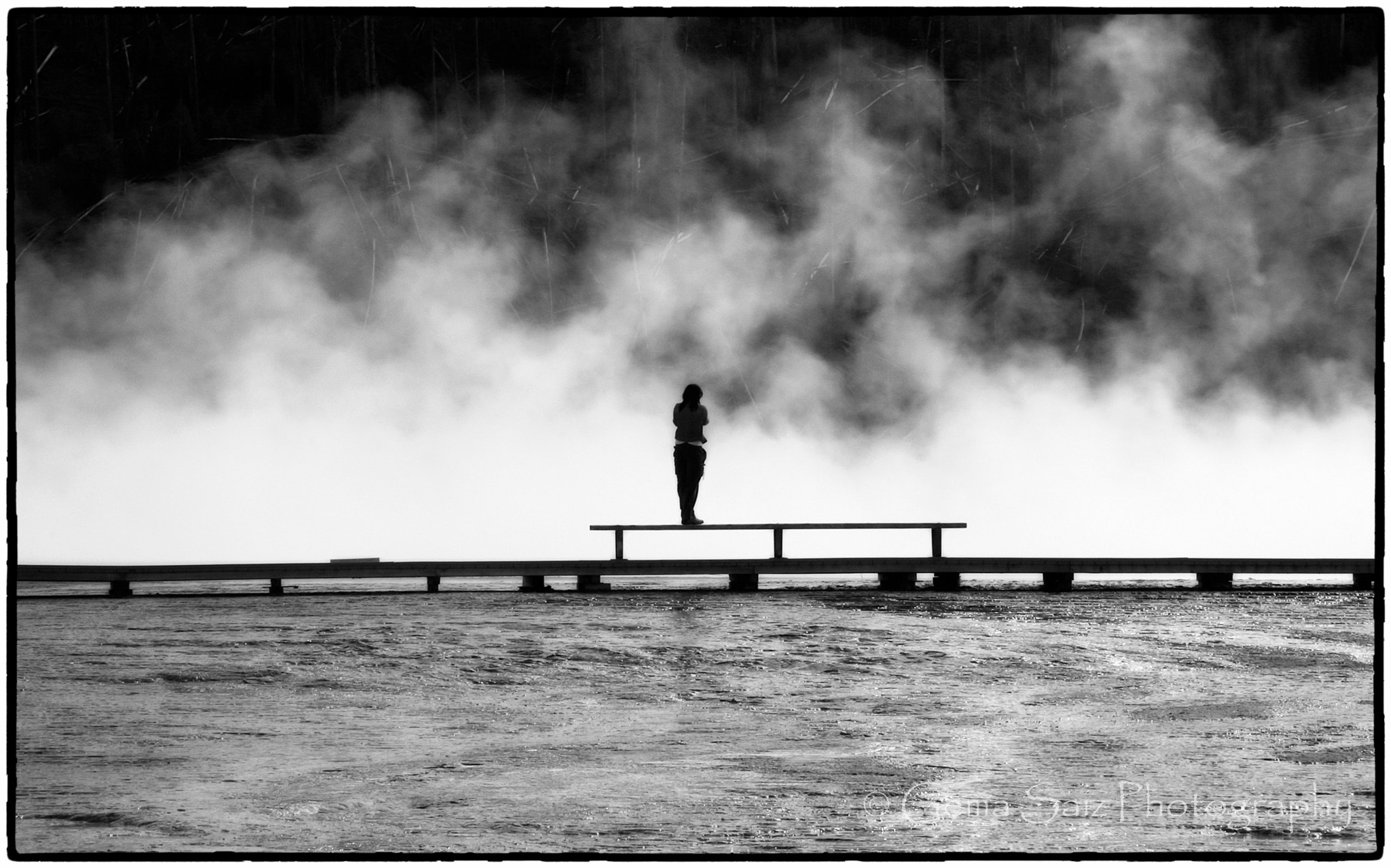 Photograph Girl in the Mist by Gema  Saiz Fine Art Photography on 500px