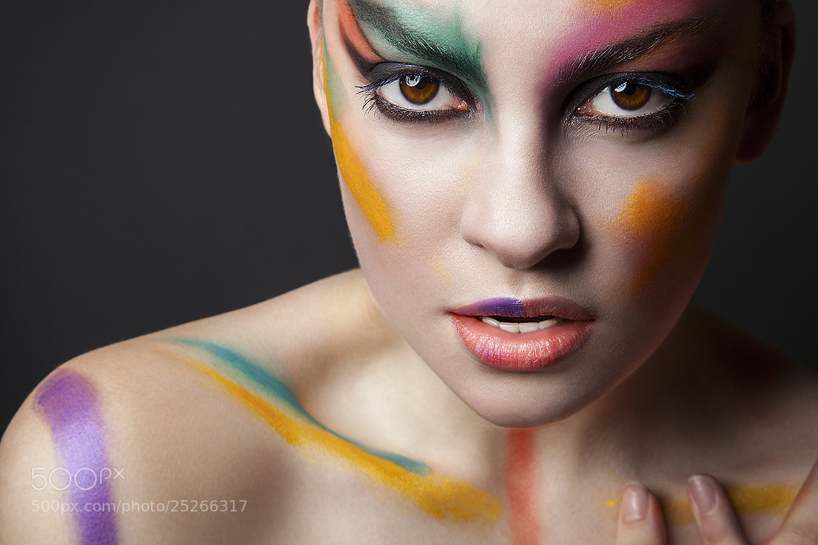 Photograph Beauty Smeared with Color by Ivan Outerbridge on 500px